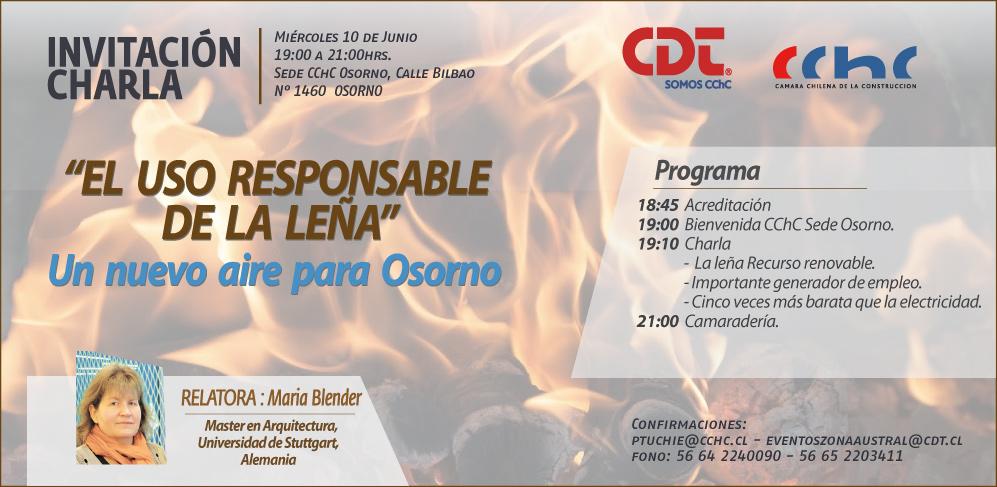 Leña Osorno invitacion