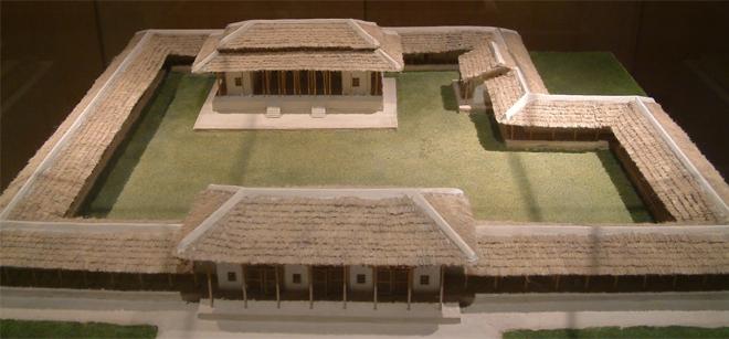 Reconstrucción-de-un-Palacio-Erlitou-Provincia-de-Henan-China